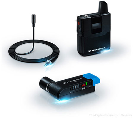 Sennheiser AVX Camera-Mountable Lavalier Digital Wireless Set