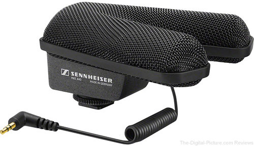 Sennheiser MKE 440 Compact Stereo Shotgun Microphone - $199.95 with Free Shipping (Reg. $349.95)