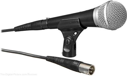 Shure PG48-XLR Cardioid Dynamic Vocal Microphone - $22.99 Shipped (Reg. $39.99)