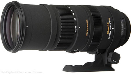 Sigma 150-500mm f/5-6.3 APO DG OS HSM Lens - $724.99 Shipped (Compare at $899.00)