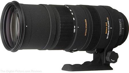 Sigma 150-500mm f/5-6.3 APO DG OS HSM Lens