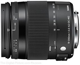 Sigma 18-200mm f/3.5-6.3 DC OS HSM Contemporary Lens