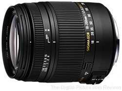 Sigma 18-250mm F3.5-6.3 DC Macro OS HSM Lens - $299.99 Shipped (Compare at $399.00)