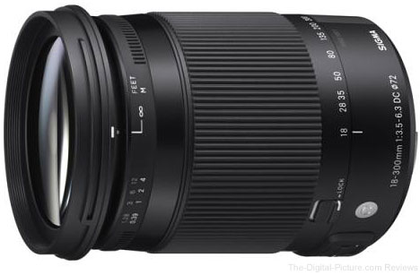 Sigma Corporation Announces New 18-300mm F/3.5-6.3 DC Macro OS HSM Contemporary