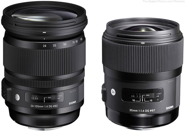 Cyber Monday Special: Sigma 24-105mm & 35mm Art Lens Deals