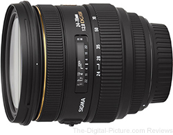 Sigma 24-70mm f/2.8 EX DG HSM Lens - $669.00 (Compare at $824.00)