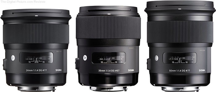 Save $50.00 on Huge Selection of Sigma Lenses