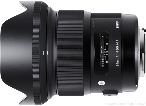 Sigma 24mm f/1.4 DG HSM Art Lens for Nikon In Stock at B&H