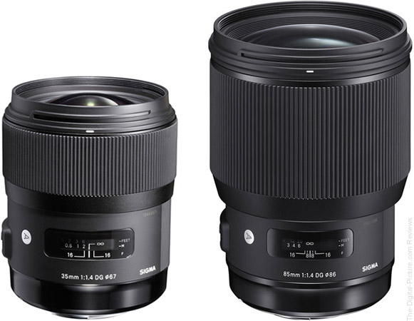 Save $50.00 on the Sigma 35/85mm Art Lenses with Promo Code
