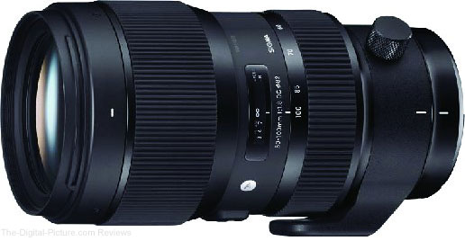 Sigma 50-100mm f/1.8 DC HSM Art Lens In Stock at B&H