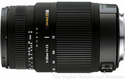 Sigma 70-300mm f/4-5.6 DG OS Lens - $199.00 Shipped (Reg. $359.00)