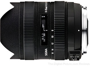 Sigma 8-16mm f/4.5-5.6 DC HSM Lens - $609.00 (Compare at $699.00)