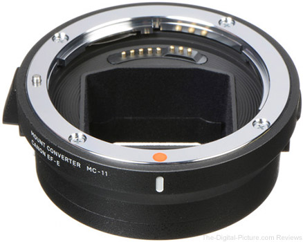 Sigma MC-11 Mount Converter/Lens Adapter (Sigma EF-Mount Lenses to Sony E) - $149.00 Shipped (Reg. $249.00)