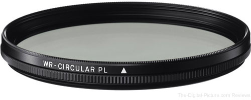 Sigma WR Circular Polarizing Filter