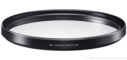 Sigma Announces Clear Glass Ceramic Protective Filters