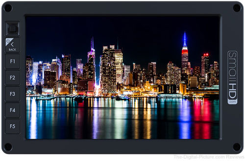 "SmallHD 702 7"" OLED On-Camera Monitor - $999.00 Shipped (Reg. $1,599.00)"