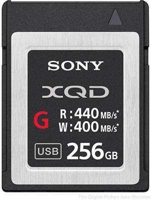 Sony XQD Memory Cards on Sale at B&H