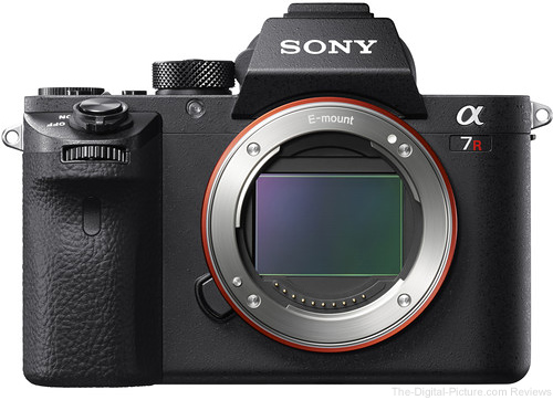 Sony Alpha a7R II Mirrorless Digital Camera (Open Box) - $2,798.00 (Compare at $3,198.00)