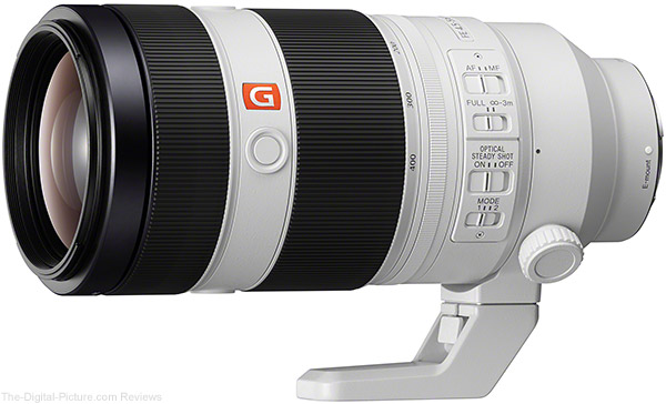 Sony Introduces FE 100-400mm f/4.5-5.6 GM OSS Lens