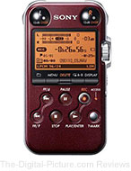 Sony PCM-M10/R Portable Digital Audio Recorder (Red)