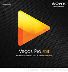 Sony Vegas Pro 12 Edit - $199.00 (Compare at $259.00)