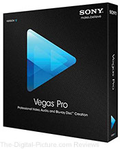 Sony Vegas Pro 12 Video Editing Software - $249.00 (Compare at $489.00)