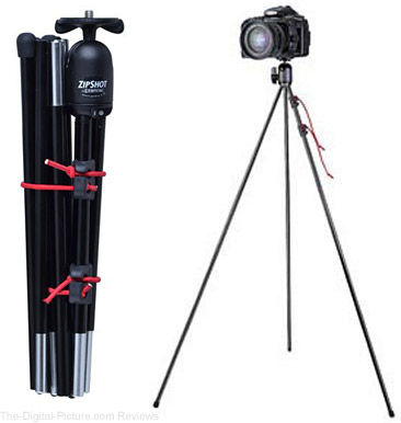 Tamrac 28-Inch ZipShot Mini Compact Camera Tripod - $14.95 Shipped (Compare at $24.95)