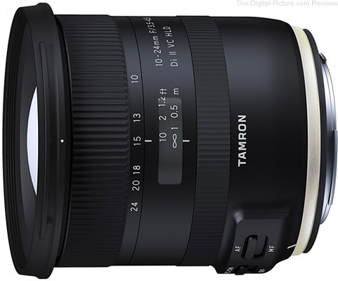 Tamron Announces 10-24mm F/3.5-4.5 Di II VC HLD