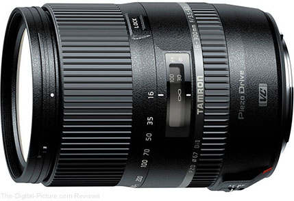 Tamron Announces Pricing for 16-300mm F/3.5-6.3 Di II VC PZD MACRO Lens