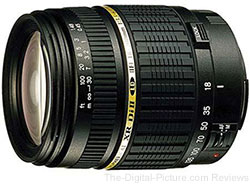 Tamron 18-200mm f/3.5-6.3 XR Di-II LD IF Lens for Canon + $30.00 Gift Card - $182.98 AR