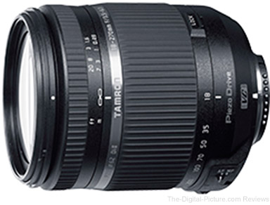 Tamron Releases Updated 18-270mm F/3.5-6.3 Di II VC PZD for Japanese Market