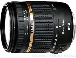 Tamron 18-270mm f/3.5-6.3 Di II VC PZD & Canon 50mm f/1.8 II Lens Bundle - $464.00 Shipped