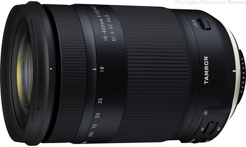 Tamron Announces 18-400mm f/3.5-6.3 Di II VC HLD All-In-One Zoom