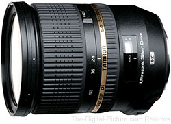 Tamron SP 24-70mm F/2.8 Di VC USD Lens for Canon - $1,109.00 (Compare at $1,299.00)