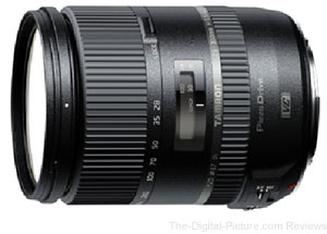 Tamron Announces Development of 28-300mm F/3.5-6.3 Di VC PZD Lens