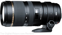 Tamron SP 70-200mm f/2.8 Di VC USD Lens - $1,199.00 (Compare at $1,399.00 AR)