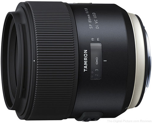 Tamron SP 85mm f/1.8 Di VC USD Lens In Stock at B&H
