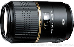 Tamron 90mm f/2.8 SP Di MACRO VC USD Lens