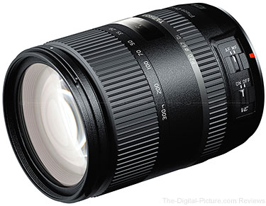 Tamron Announces New All-In-One 28-300MM F/3.5-6.3 DI VC PZD Lens