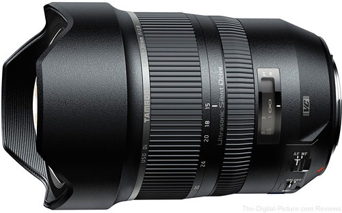 Tamron Officially Launches SP 15-30mm F/2.8 Di VC USD