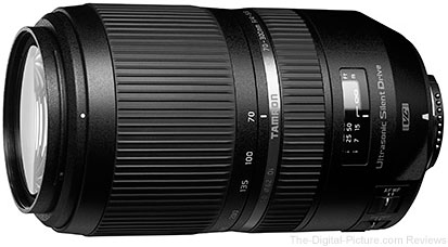 Tamron Announces SP 70-300mm F/4-5.6 Di VC USD (Model A030) for Japanese Market