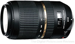 Tamron SP 70-300mm f/4-5.6 Di VC USD Lens for Canon Bundle - $357.98 AR