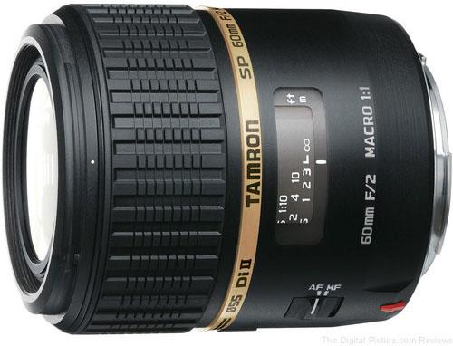 Tamron SP AF 60mm f/2 Di II LD Macro Lens - $359.00 (Compare at $524.00)