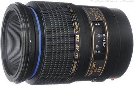 Tamron SP AF 90mm f/2.8 Di Macro Lens - $310.00 (Compare at $499.00)