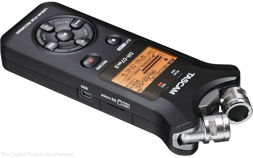 Tascam DR-07 Mark II Digital Audio Recorder - $116.37 Shipped (Compare at $149.99)