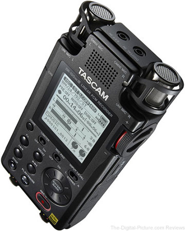 Tascam DR-100mkIII Linear PCM Recorder In Stock at B&H