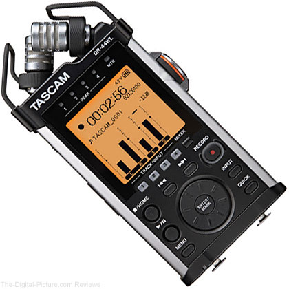 Tascam DR-44WL 4-Channels Portable Handheld Audio Recorder - $189.99 Shipped (Compare at $224.92)
