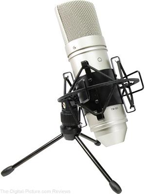 Tascam TM-80 Studio Condenser Microphone - $29.99 Shipped (Reg. $59.99)