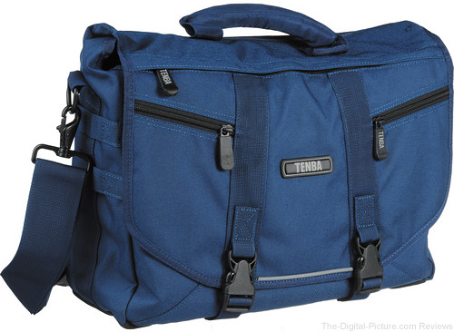 Tenba Messenger: Large Photo/Laptop Bag (Navy Blue) - $39.95 Shipped (Reg. $109.95)