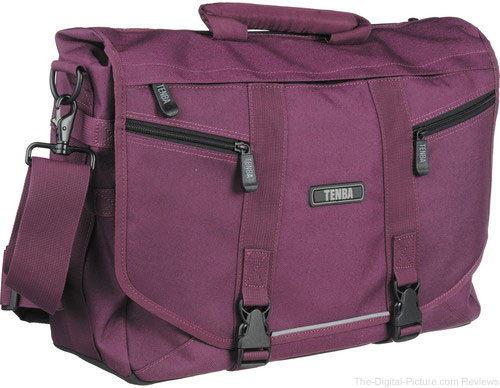 Tenba Messenger – Small Photo/Laptop Bag (Plum) - $37.95 Shipped (Reg. $104.95)